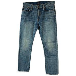 Lucky Brand Blue Medium Wash Straight Leg Jeans